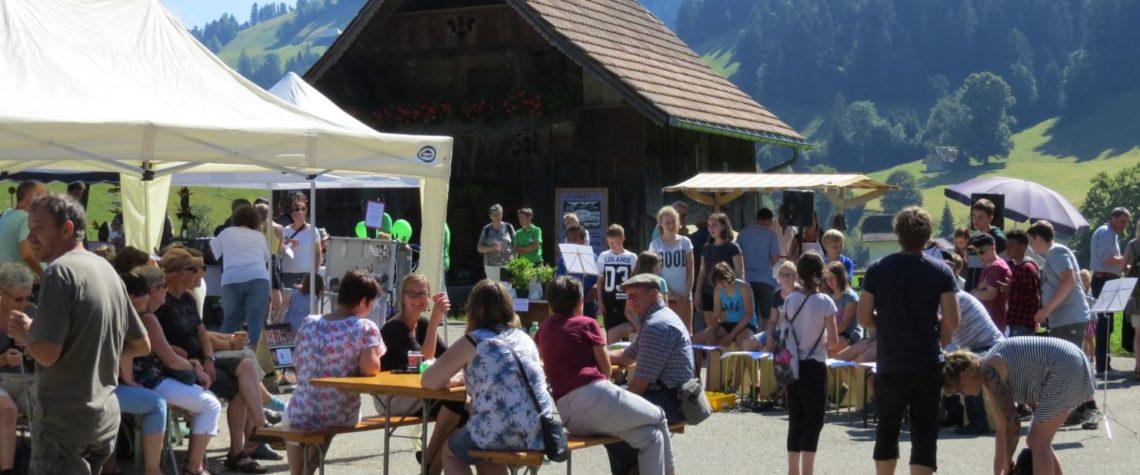 Trueber Heimat Märit Programm 2019